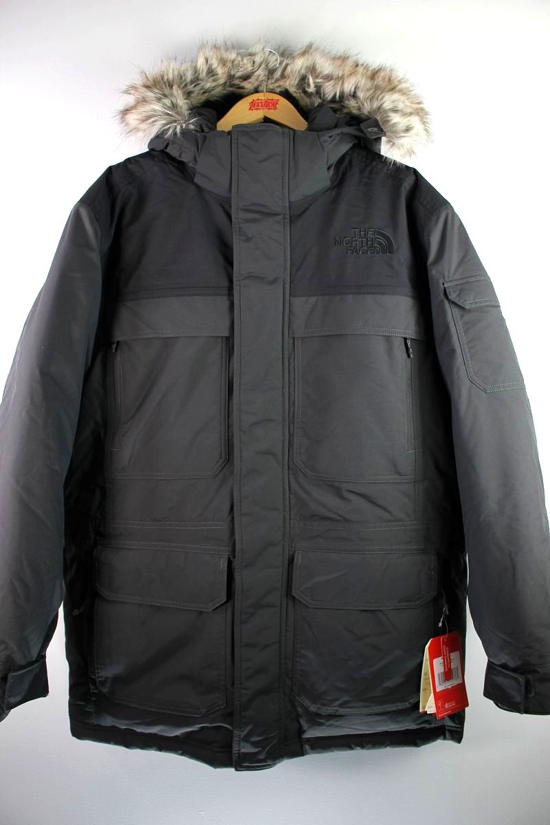 THE NORTH FACE / MCMURDO PARKA III / black×charcoal