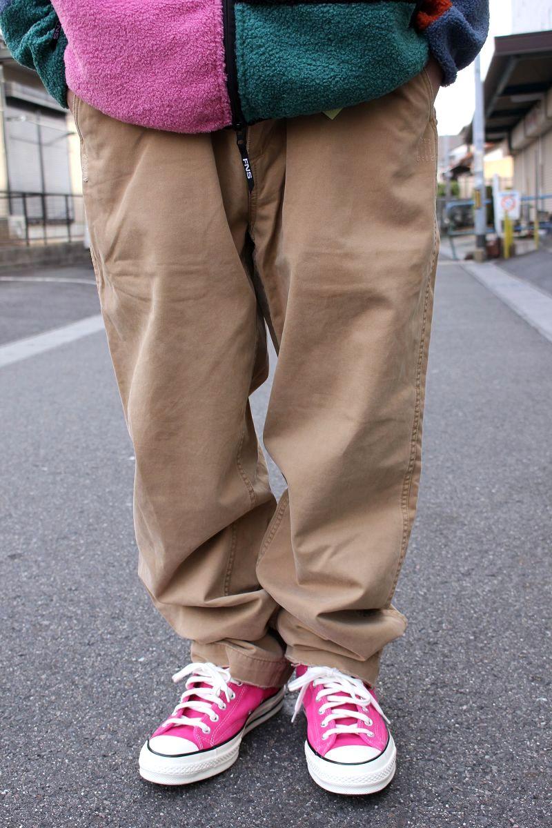 USED!!! POLO RALPH LAUREN / VINTAGE CHINO PANTS (00'S) / khaki