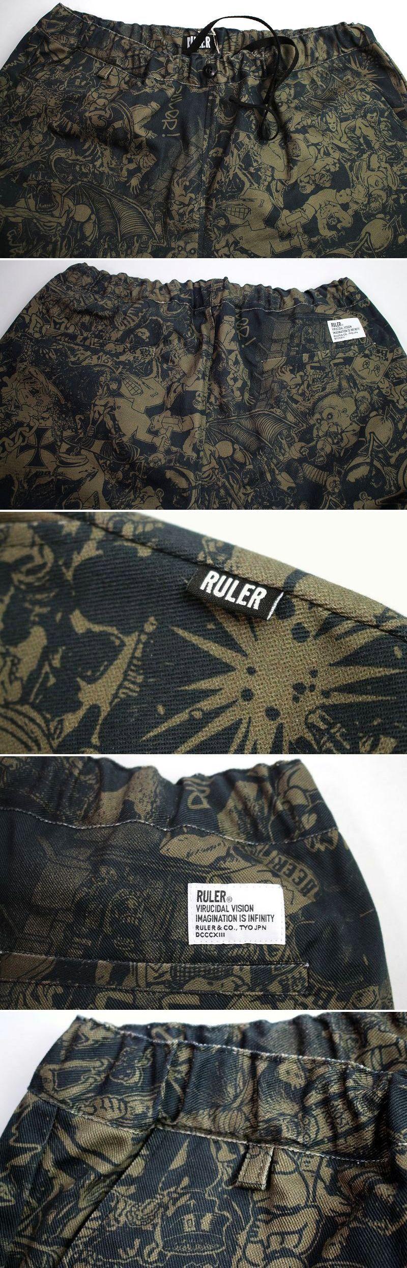 "RULER / ""WAY OF LIFE"" TAPERD PANTS / black"