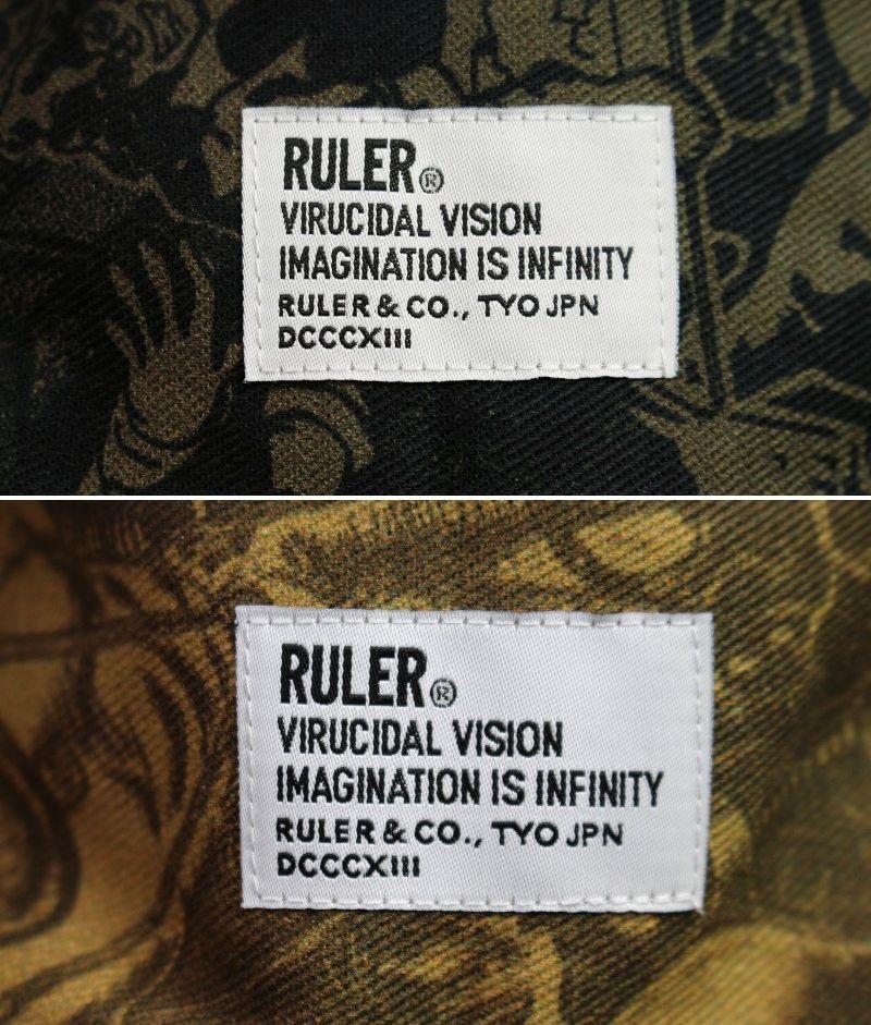 """RULER / """"WAY OF LIFE"""" REVERSIBLE BUCKET HAT"""