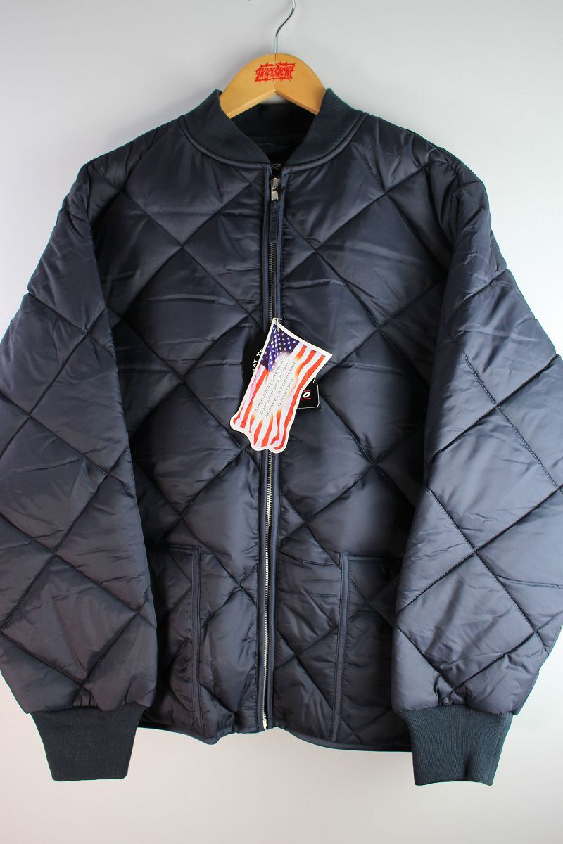 ROTHCO / DIAMOND NYLON QUILTED FLIGHT JACKET / navy