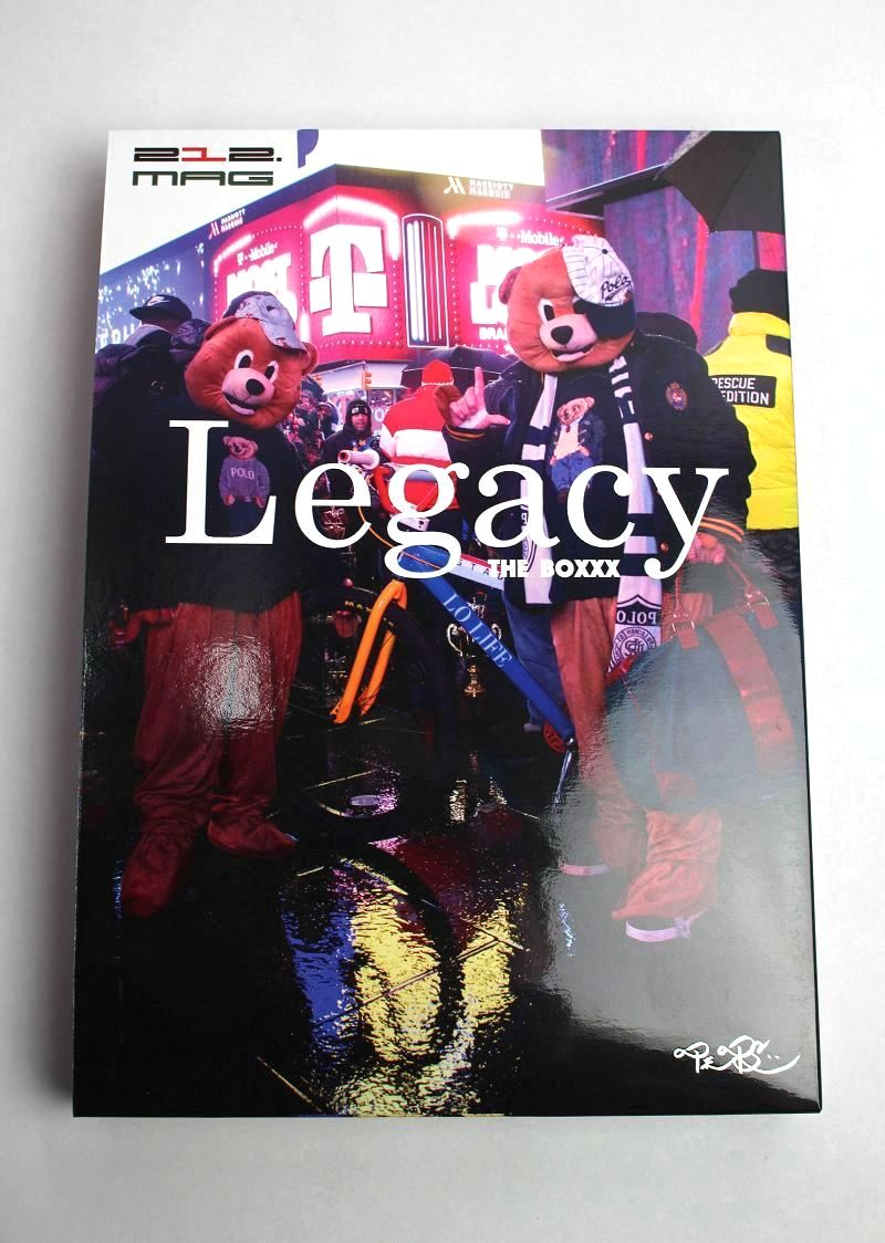 "212 MAGAZINE / Legacy The BOXXX"" -2nd edition-"