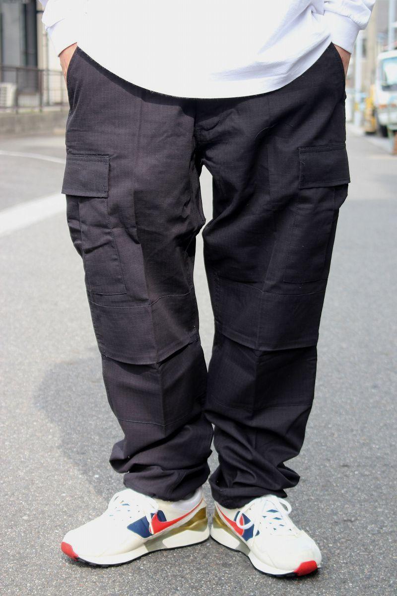 ROTHCO / RIP-STOP BDU CARGO PANTS / black