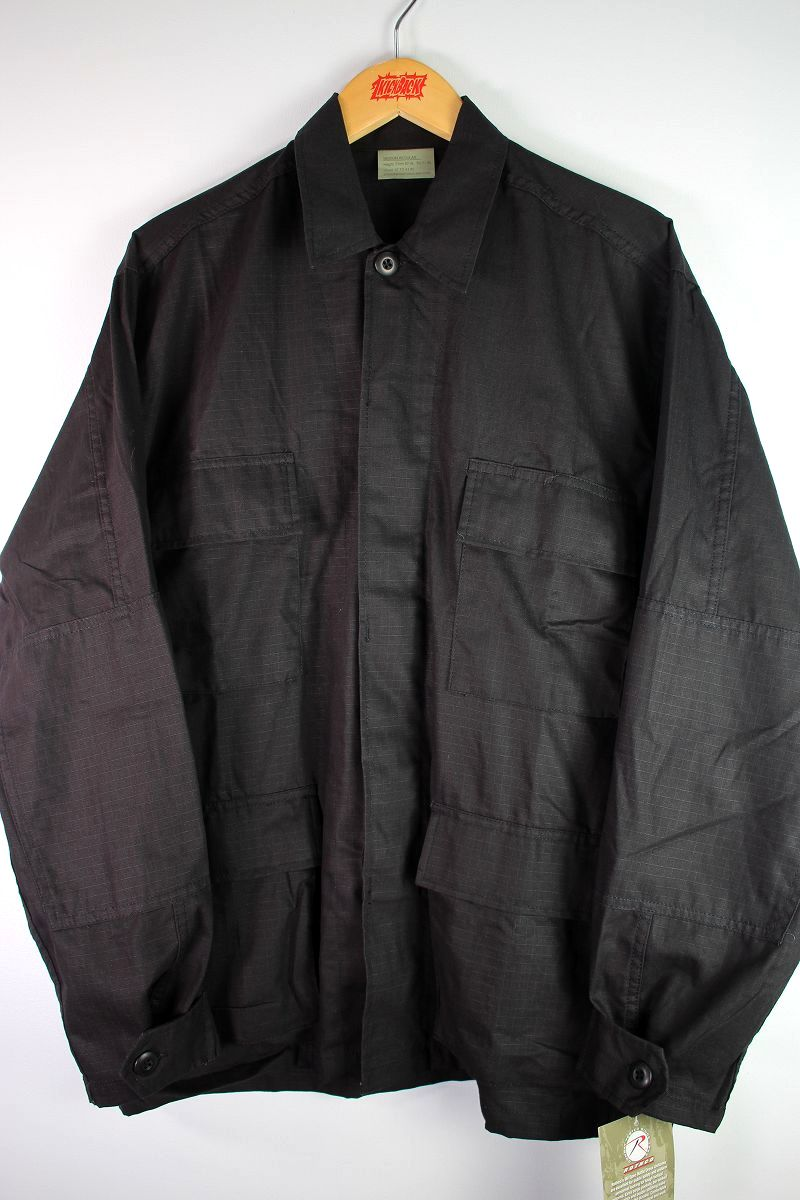 ROTHCO / RIP-STOP BDU SHIRTS / black