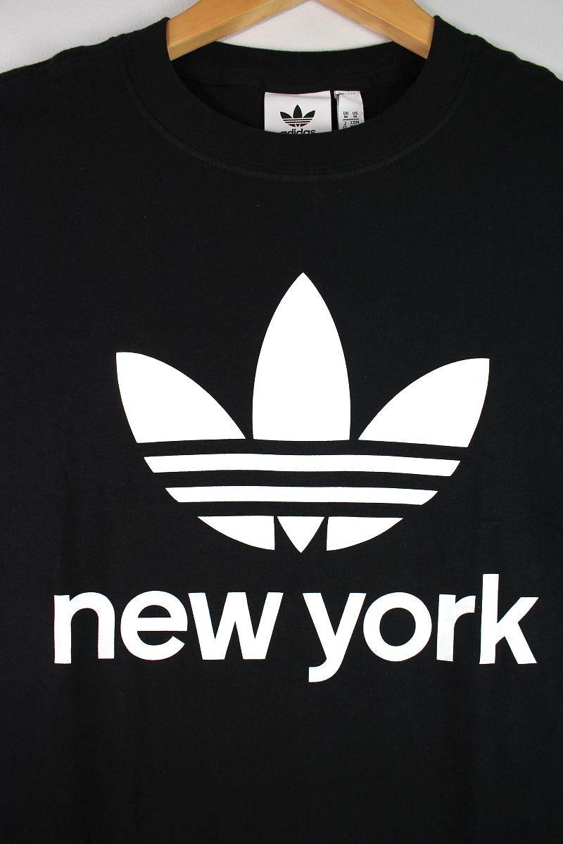 "adidas ORIGINALS / ""NYC TREFOIL"" Tee / black"