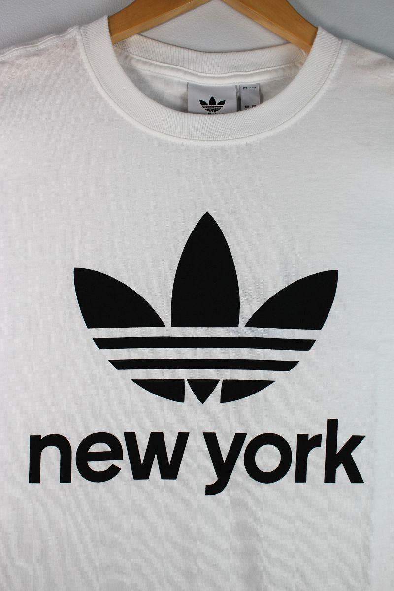 "adidas ORIGINALS / ""NYC TREFOIL"" Tee / white"
