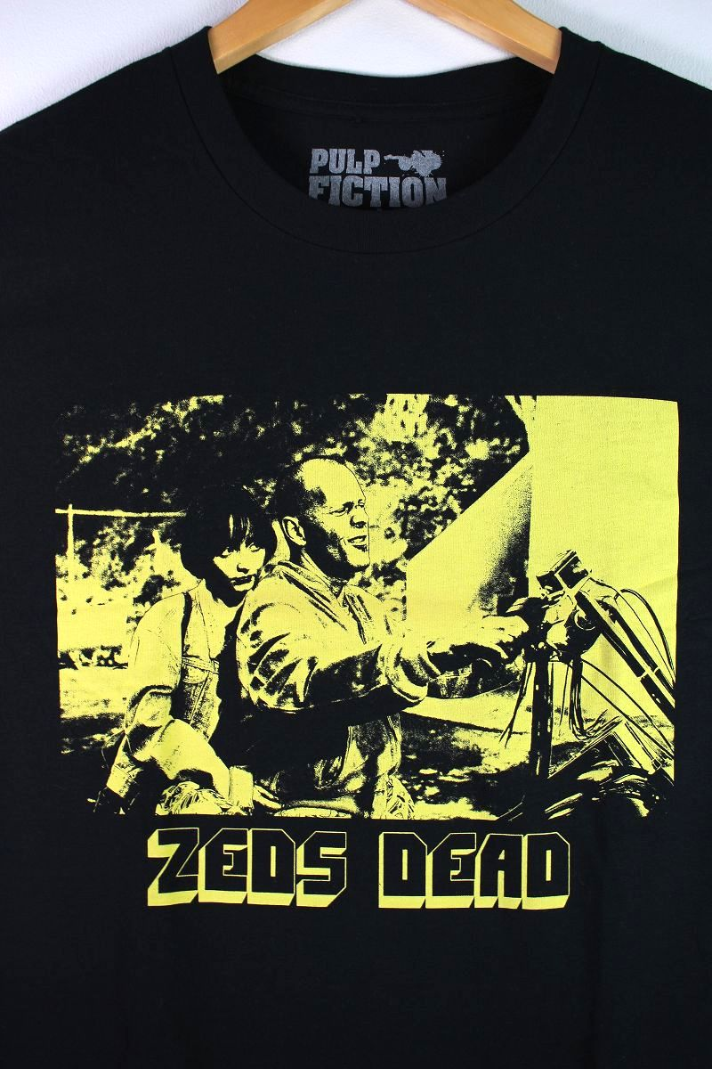 "PULP FICTION / ""ZEDS DEAD"" Tee / black"