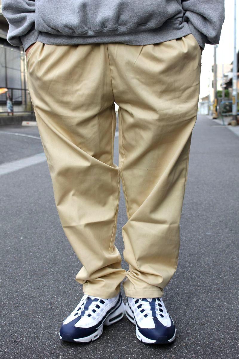 COOKMAN / CHEF PANTS / beige