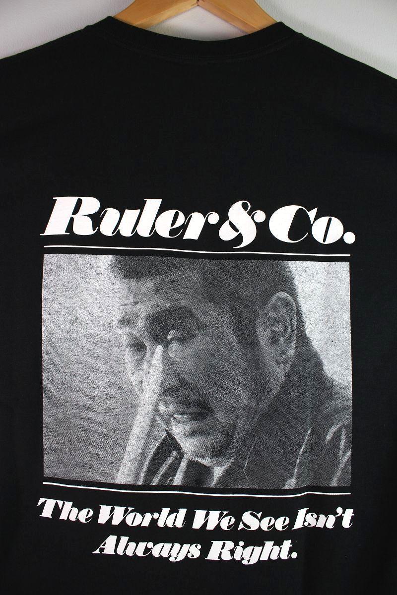 "RULER / ""ICHI"" Tee / black"