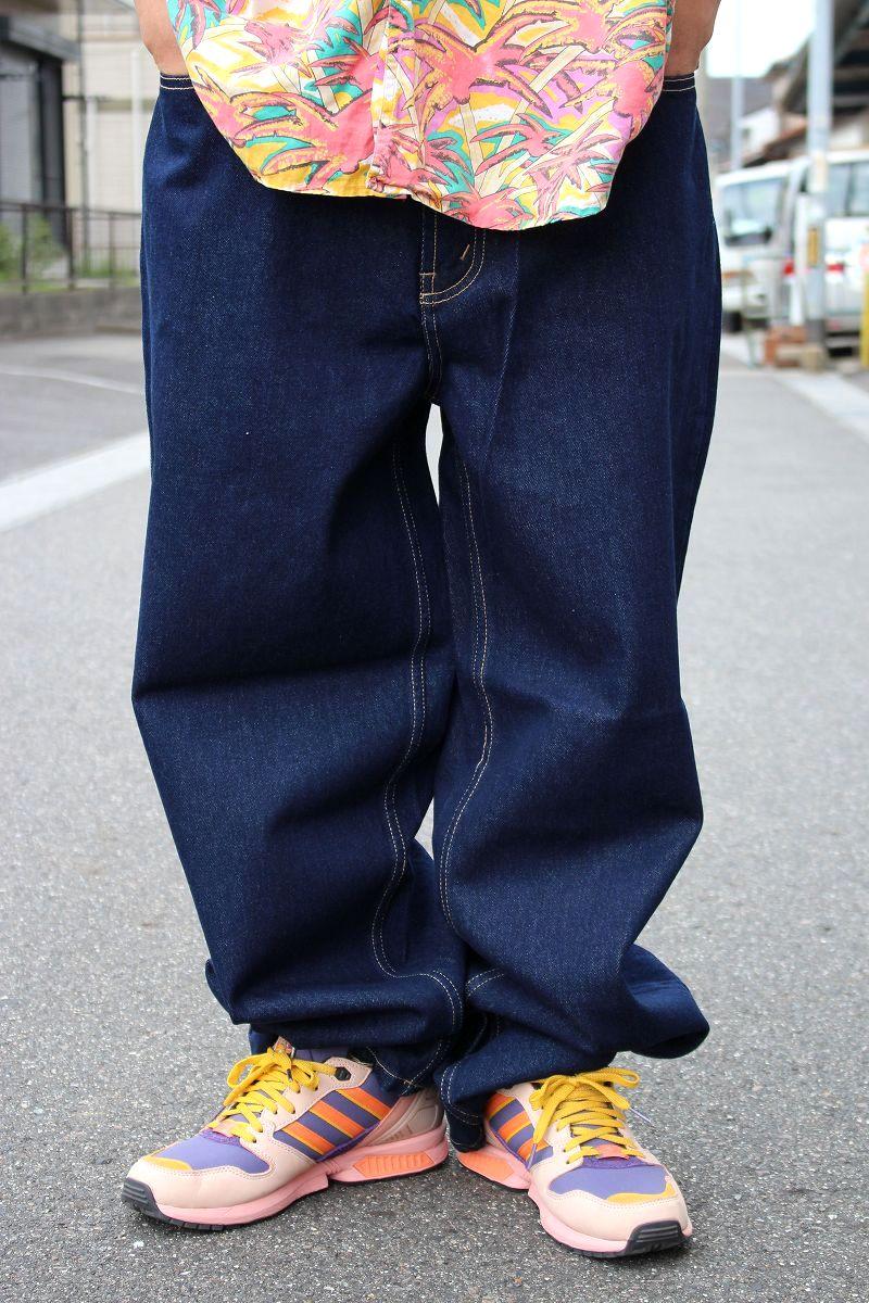 DEADSTOCK!!! NAUTICA / EASY FIT DENIM PANTS (90'S) / indigo