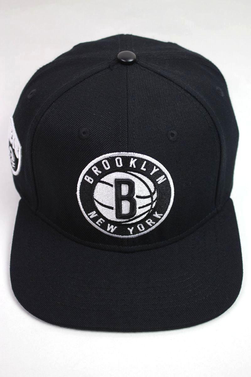 "PRO STANDARD / ""BROOKLYN NETS"" SNAPBACK CAP / black"
