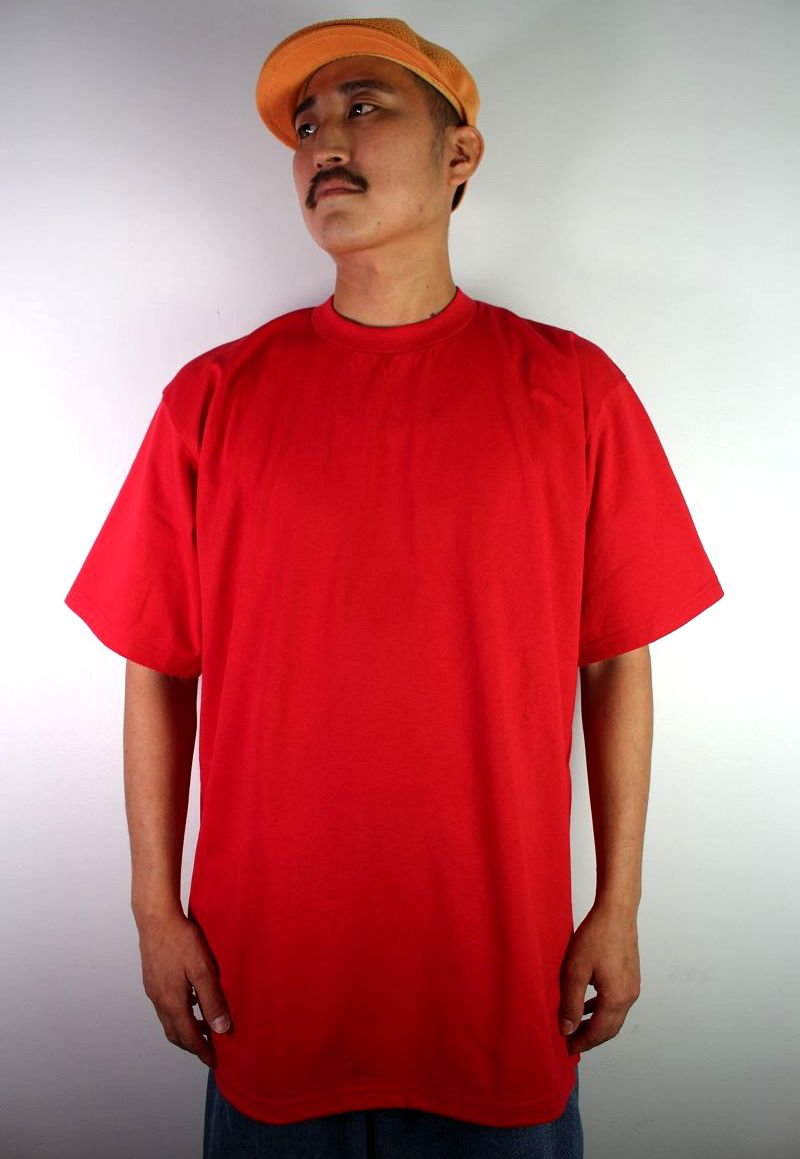PRO CLUB / HEAVY WEIGHT CREWNECK Tee (TALL SIZE) / red