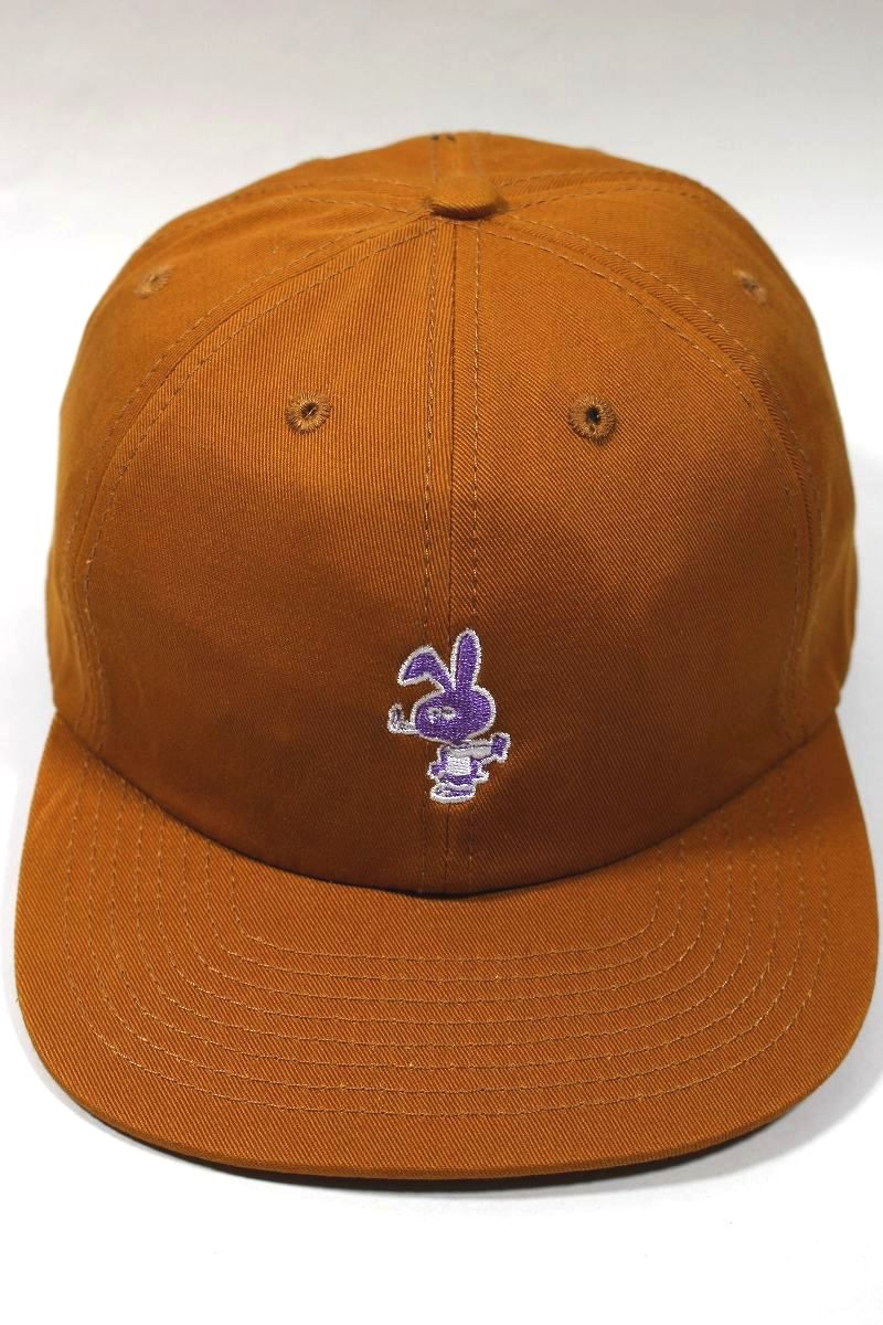 """COLD WORLD FROZEN GOODS / """"BROWN BUNNY"""" STRAPBACK CAP / saddle brown"""