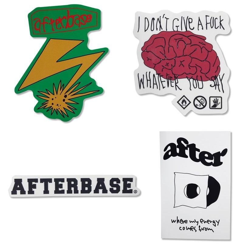 AFTERBASE / STICKER PACK 2019AW