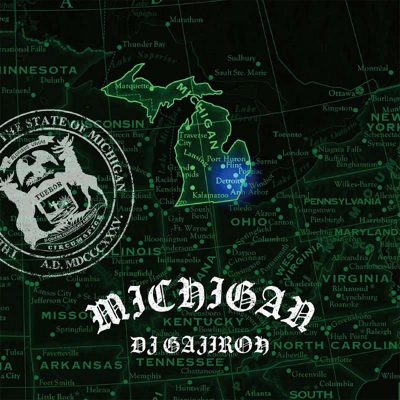 "DJ GAJIROH / ""MICHIGAN"" MIX CD"
