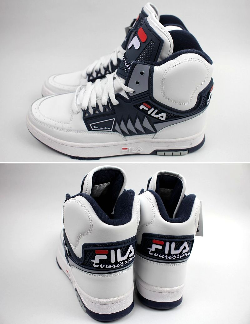 FILA / TOURISIMO / white×navy