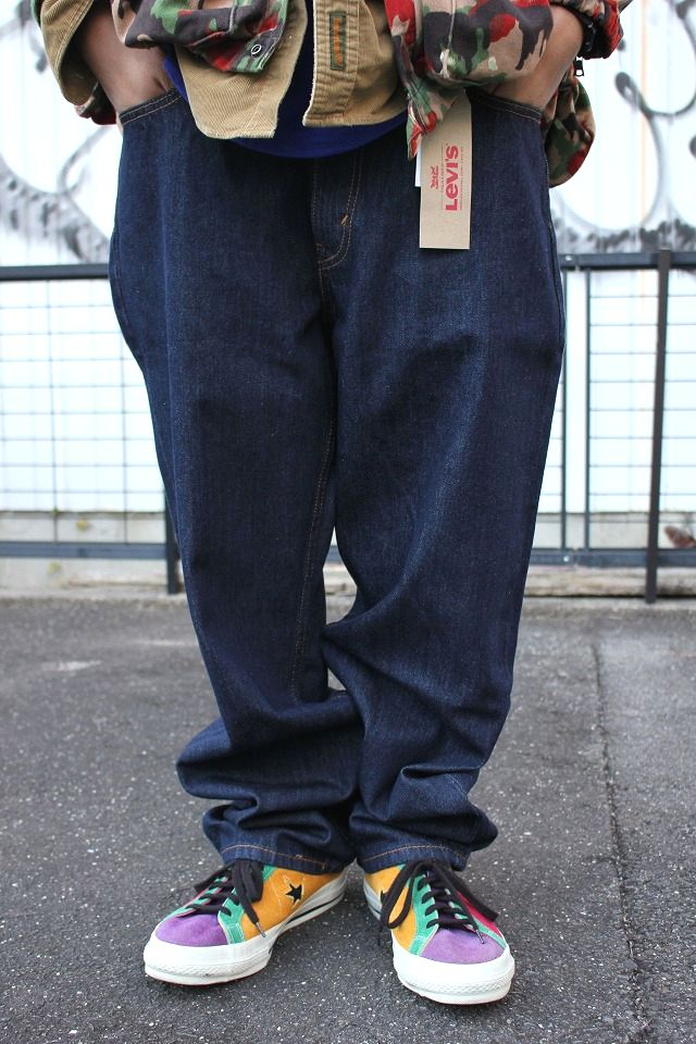 LEVI'S / 550 RELAX FIT DENIM PANTS / one wash indigo