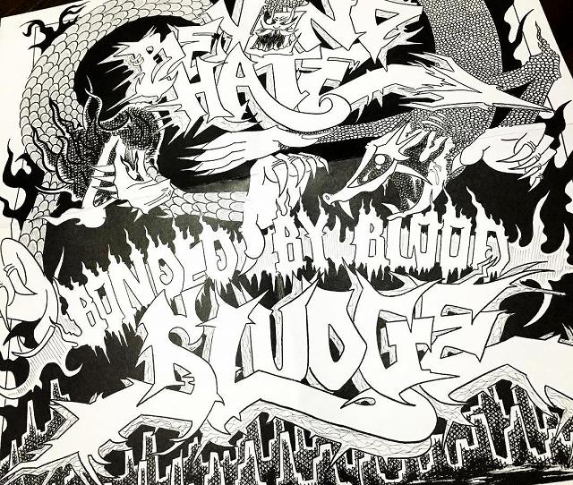 SLUDGE×BEYOND HATE / BONDED BY BLOOD