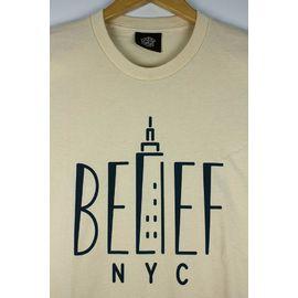 "BELIEF / ""EMPIRE"" Tee / cream"