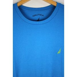 NAUTICA / ONE POINT LOGO Tee / blue