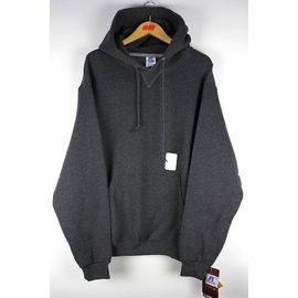 RUSSEL ATHLETIC / PULLOVER HOODY / chacoal heather