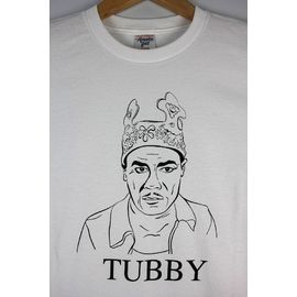 "ACAPULCO GOLD×M.V.P. / ""TUBBY"" Tee / white"