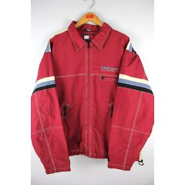 USED!!! TOMMY HILFIGER / SNOW BOARD JACKET (90'S) / wine red