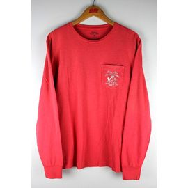 POLO RALPH LAUREN / LS POCKET Tee / washed pink