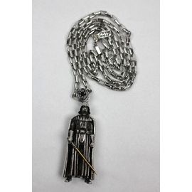 "HAN CHOLO×STAR WARS / ""DARTH VADER"" NECKLACE / silver"