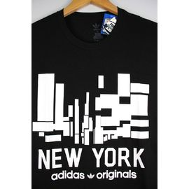 "adidas ORIGINALS / ""INVADER NY"" Tee / black"