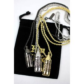 "HAN CHOLO / ""40 OZ"" NECKLACE"