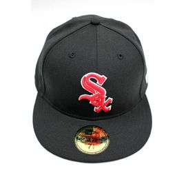 "NEWERA / ""CHICAGO WIHITE SOX"" FITTED CAP / black×red"