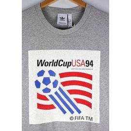 "adidas ORIGINALS / ""WORLD CUP 1994"" Tee / heather grey"