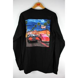 "IN-N-OUT BURGER / ""HOLLYWOOD CRUISING"" LS Tee / black"