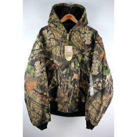 CARHARTT / QUILTED-FLANNEL LINED CAMO ACTIVE JACKET / real tree camo