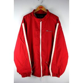 USED!!! HILFIGER ATHLETICS / SWING TOP JACKET (90'S) / red