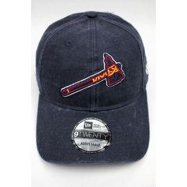"NEWERA / ""ATLANTA BRAVES"" STRAPBACK CAP / navy"