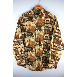 "DEADSTOCK!!! WOOLRICH / ""HUNTER"" BUTTON DOWN SHIRTS (00'S) / brown"