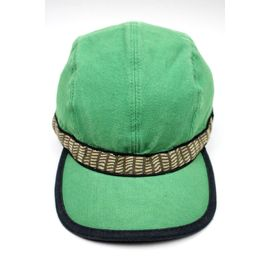 USED!!! KAVU / NATIVE STRAP CAP (90'S) / washed green
