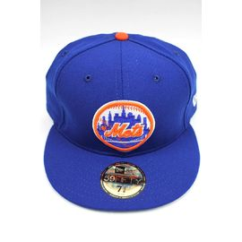 "NEWERA / ""NEWYORK METS"" COOPERSTOWN COLLECTION FITTED CAP / blue×orange"