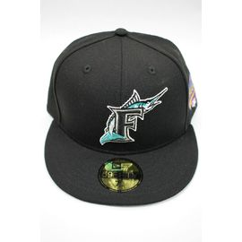 "NEWERA / ""FLORIDA MARLINS"" 1997 WORLD SERIES FITTED CAP / black"