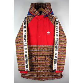 adidas ORIGINALS×PHARRELL WILLIAMS / PADDED JACKET / red