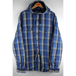 POLO RALPH LAUREN / THERMAL LINER HOODED SHIRTS / blue