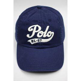 "POLO RALPH LAUREN / ""SCRIPT LOGO"" STRAPBACK CAP / navy"