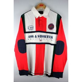 """40S & SHORTIES / """"UPTOWN"""" RUGBY SHIRT"""