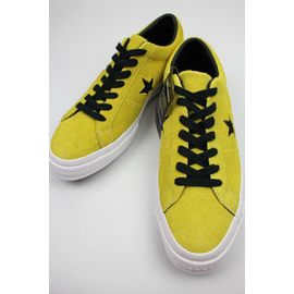 CONVERSE USA / ONE STAR OX SUEDE / mustard×black×white