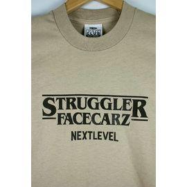 "FACECARZ / ""STRUGGLER THINGS"" Tee / khaki"