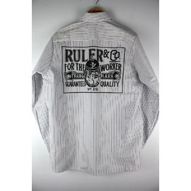 "RULER / ""FTW"" REDKAP STRIPE WORK SHIRTS"