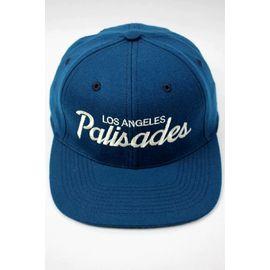 "HOOD HAT / ""PALISADES CA"" SNAPBACK CAP / ocean blue"