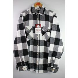 ROTHCO / EXTRA HEAVYWEIGHT FLANNEL SHIRTS / white×black